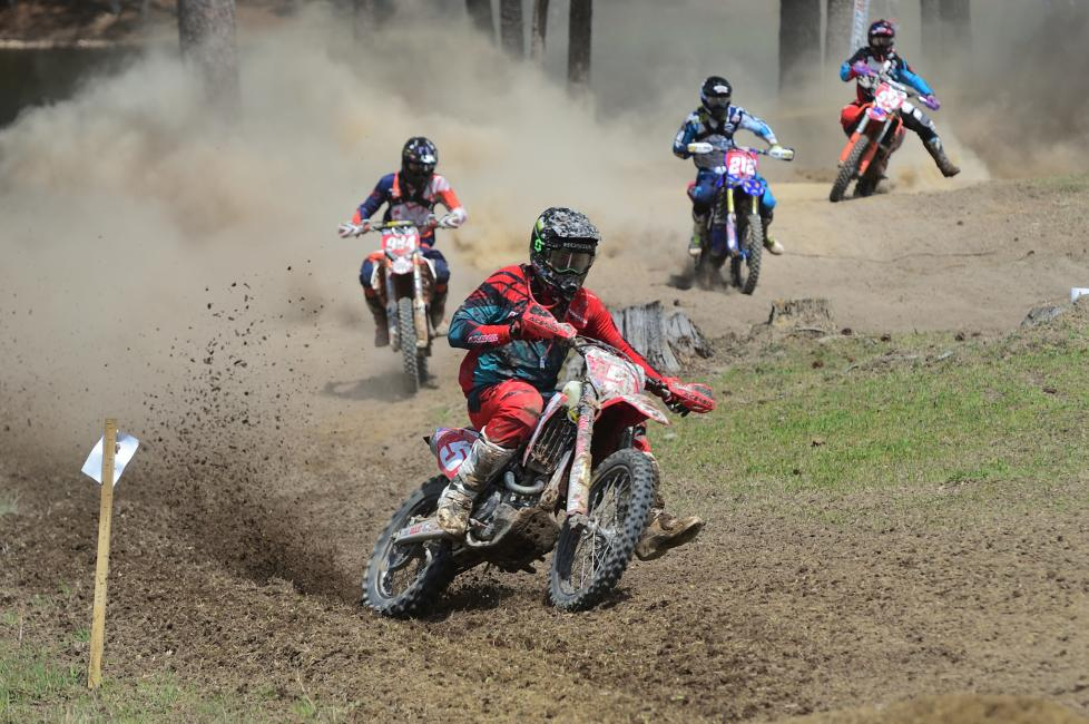 Plenty of racing action happened behind the top three riders at the Maxxis Cannonball GNCC.