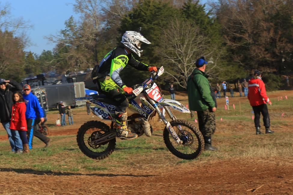 Zack Davidson is just one of several racers hailing from Iron Station, NC