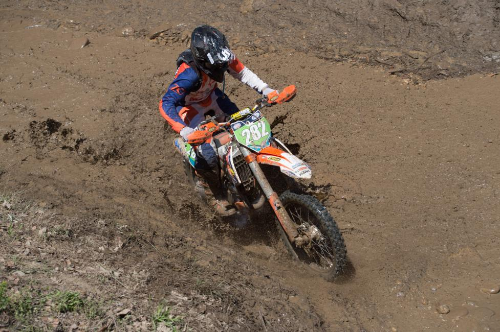 After two solid XC2 250 Pro podium finishes, Mike Witkowski has his eyes on stealing the top spot away from Josh Toth.