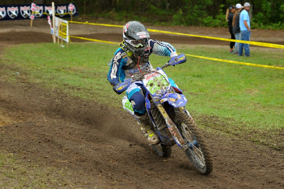 Josh Toth had his work cut out for him, but the Yamaha rider rode away with his fifth-straight XC2 250 Pro class win in the Palmetto State.