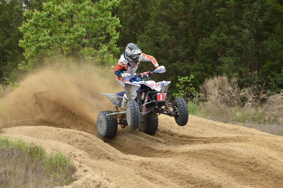 Walker Fowler raced his way to another win at the CST Tires Camp Coker Bullet GNCC.