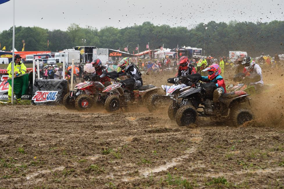 Landon Wolfe earned the XC1 Pro holeshot award at the X-Factor GNCC.
