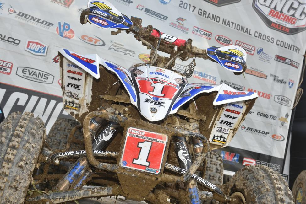 Walker Fowler's Yamaha YFZ 450 R returned to its home in the middle of the podium this weekend.