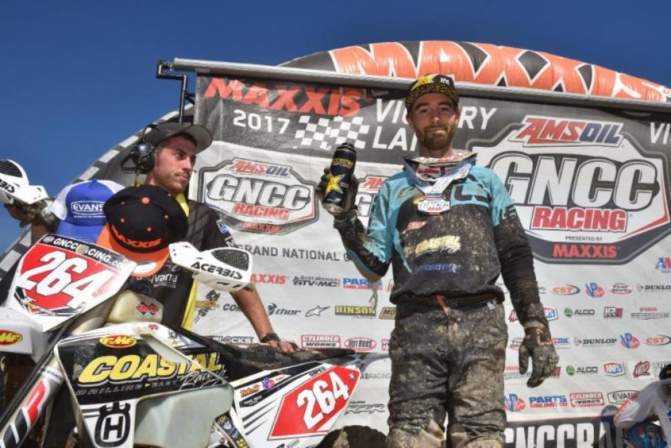 Ryan Sipes earns his second podium finish of the season at Round 7.