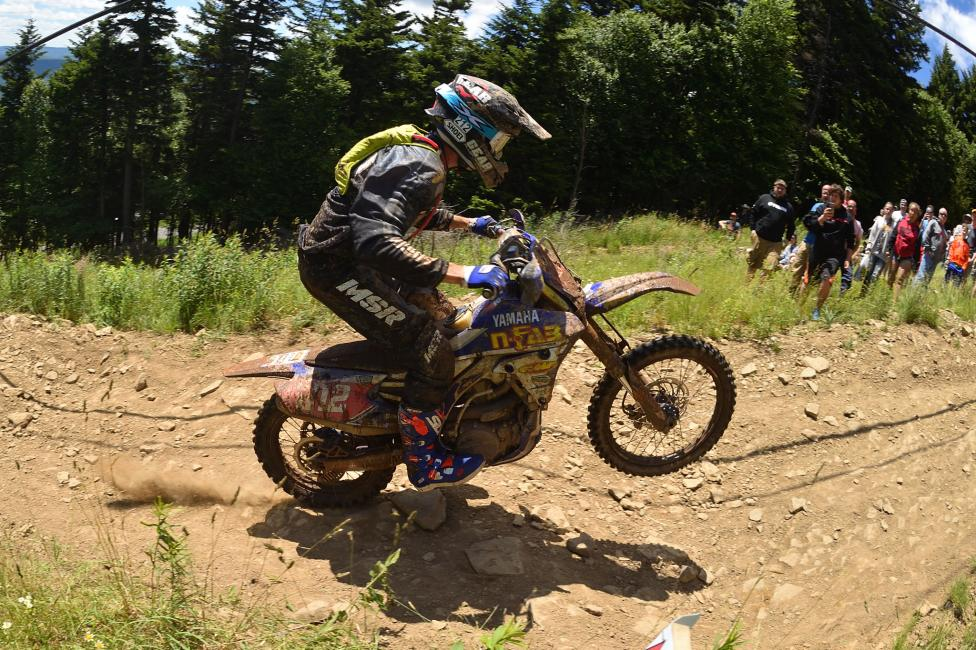 Ricky Russell raced his way to his first-ever overall victory at Snowshoe Mountain.