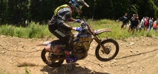 Ricky Russell Earns His First Career Overall Victory at the AMSOIL Snowshoe GNCC