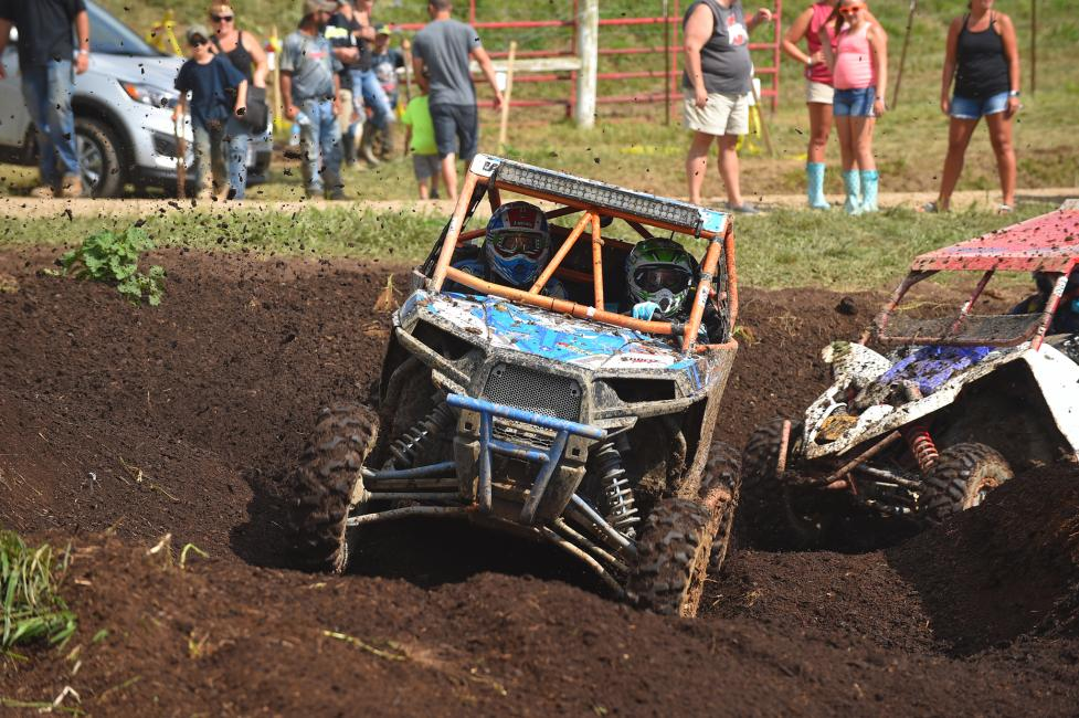 Veronica Whitesell dominated the Women's UTV division - leading every lap from start to finish.