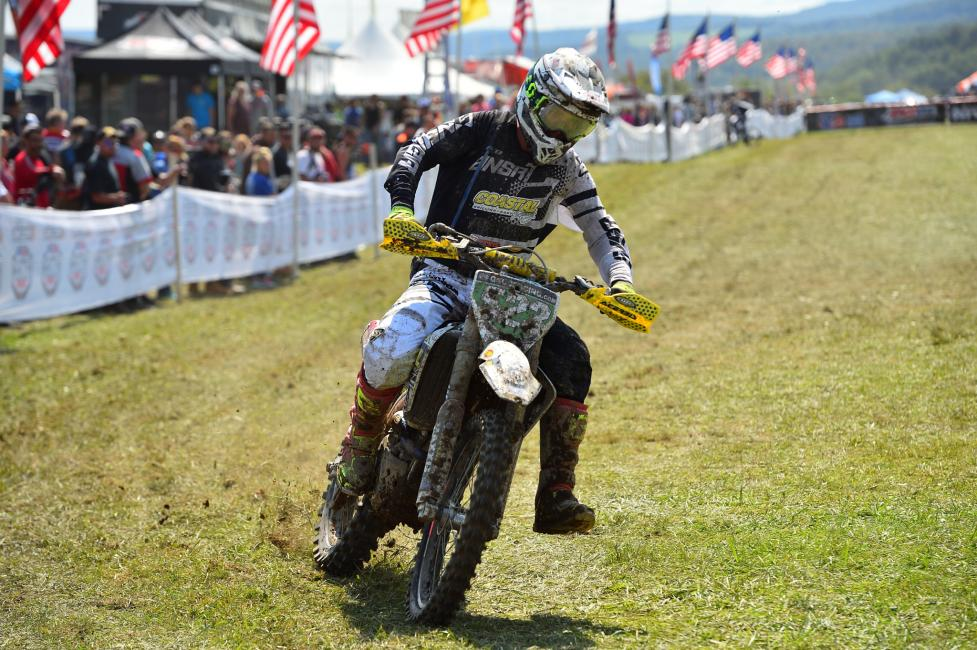 Layne Michael finished an impressive third overall along with winning the XC2 250 Pro class.