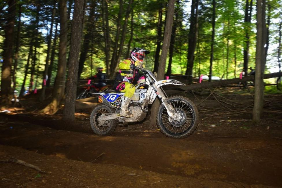 Husqvarna supported rider, Tayla Jones claims the overall Women's Pro title.