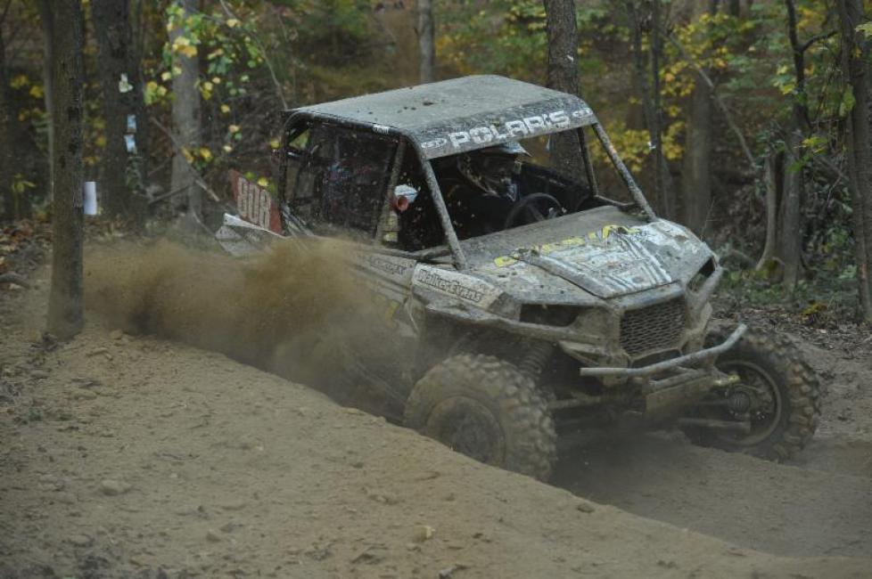 Bad luck for the duo of Sean Bogdan and Jade Kiger in the XC1 Pro UTV class.