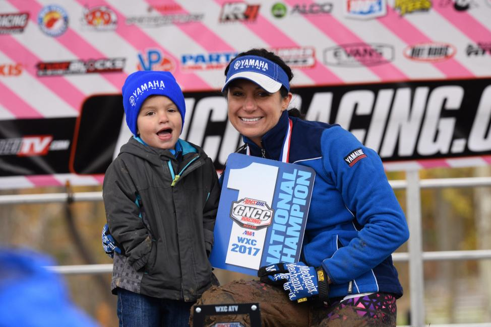 Traci Pickens earned her 10th WXC National Championship over the weekend at the AMSOIL Ironman GNCC.