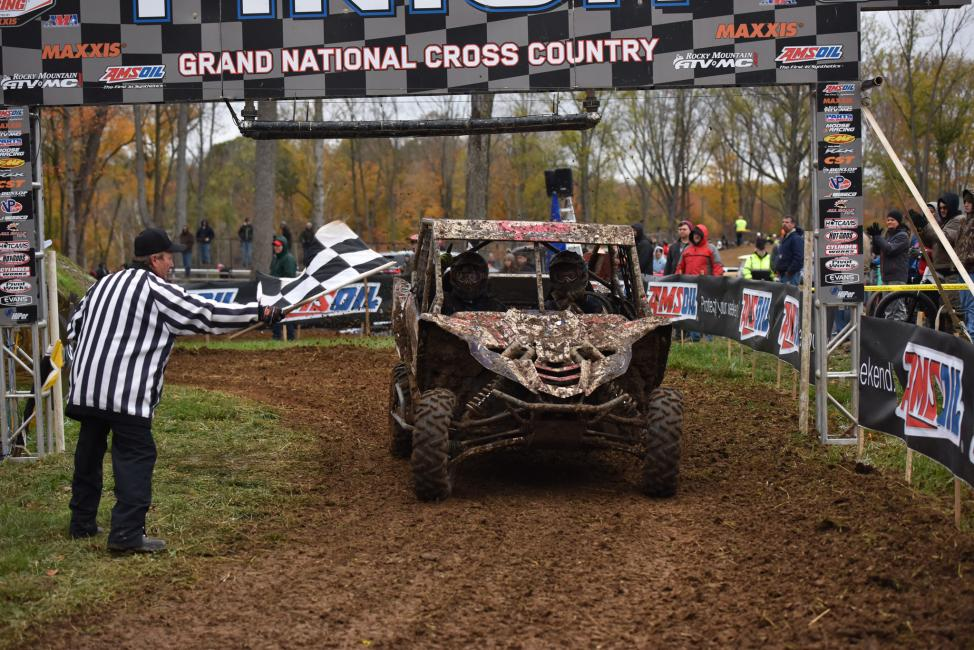 Cody Miller took the GNCC season finale win on Saturday, October 28, afternoon.