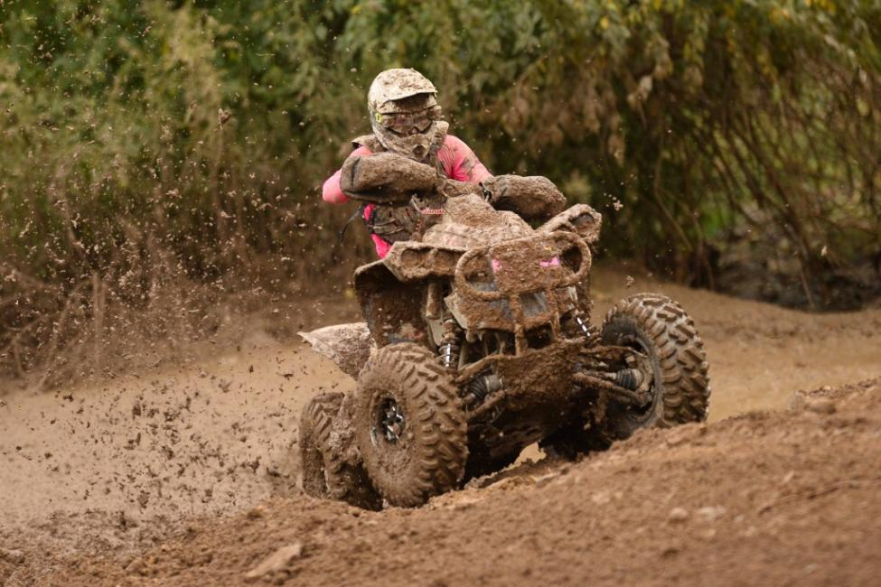 Landon Wolfe turned heads as he raced to victory in his first ever 4x4 Pro class race.