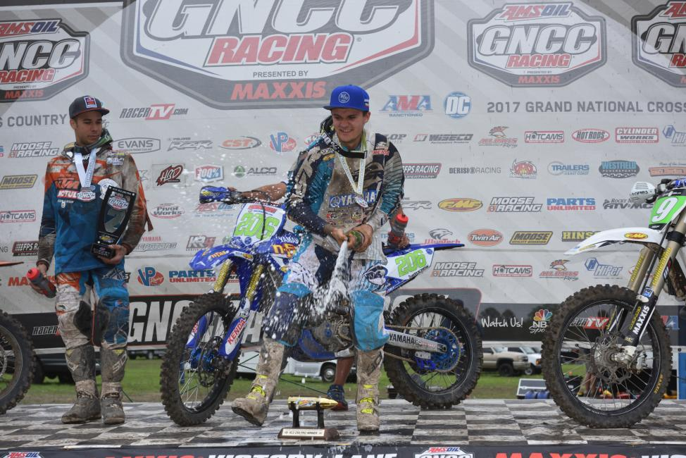In just his second full GNCC season, Toth was able to claim the XC2 championship!