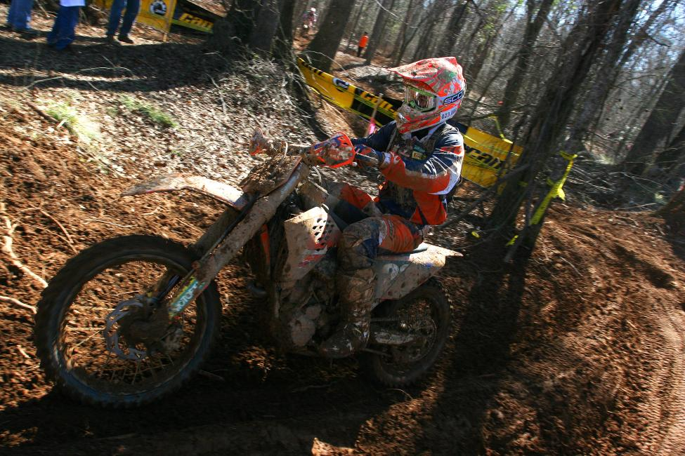 Kailub Russell works his way around The General GNCC course in his XC2 days.