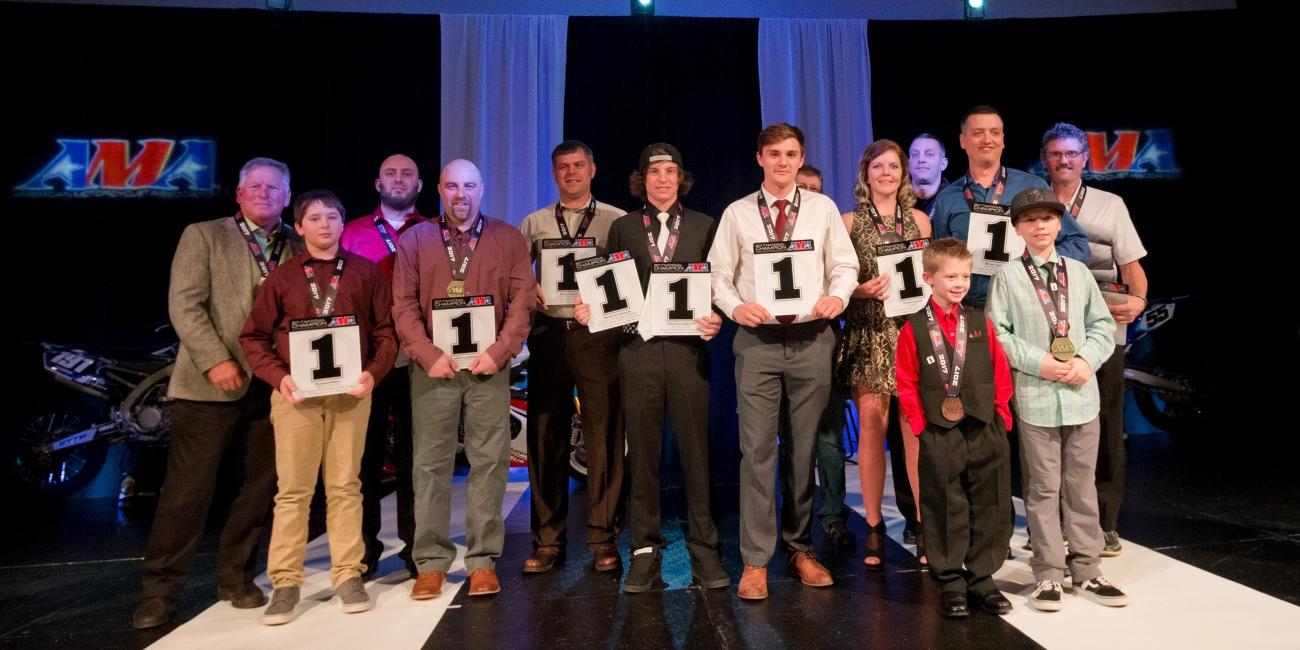 GNCC Racers Earn Top Honors at the 2017 AMA Championship Banquet