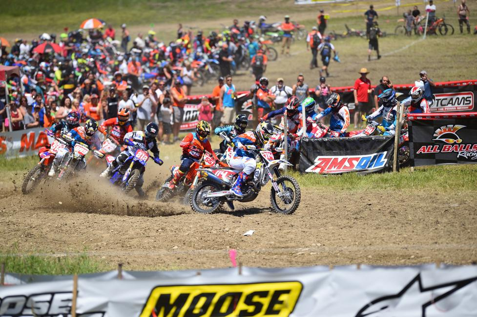 The extensive GNCC broadcast cable television package will feature 13 different highlight episodes.