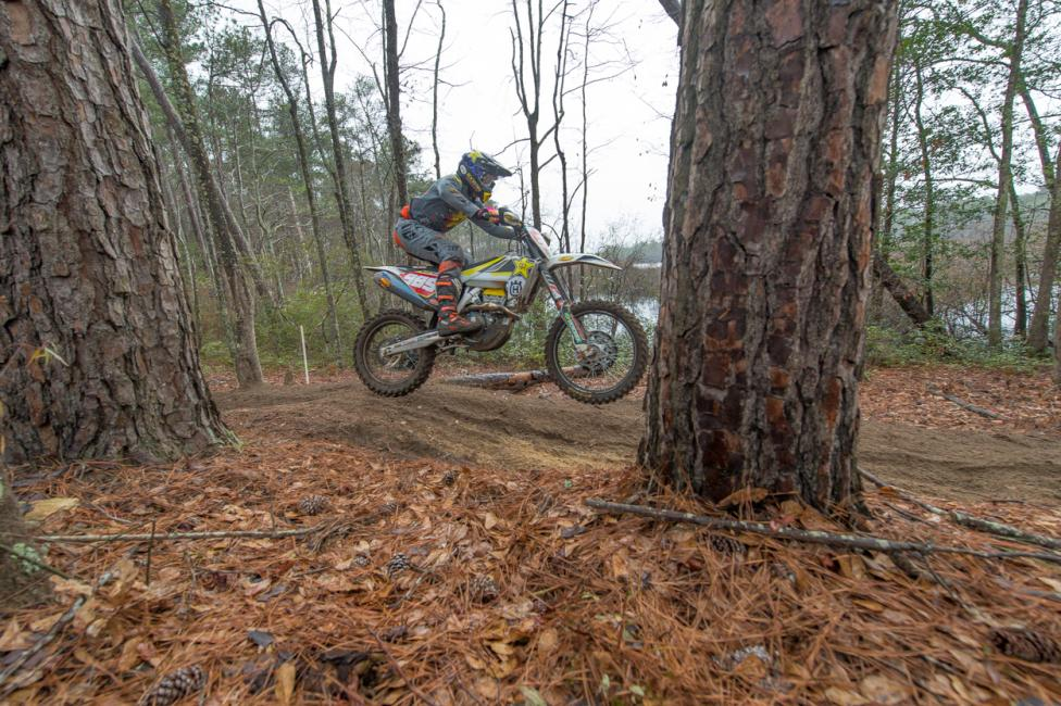 Rockstar Energy Husqvarna Factory Racing's Thad Duvall has a tough start to the 2018 National Enduro season.
