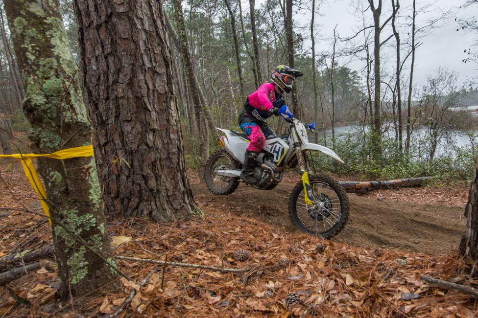 Husqvarna Motorcycles, Rockstar Energy supported, Tayla Jones claims second place in the Womens Elite class.