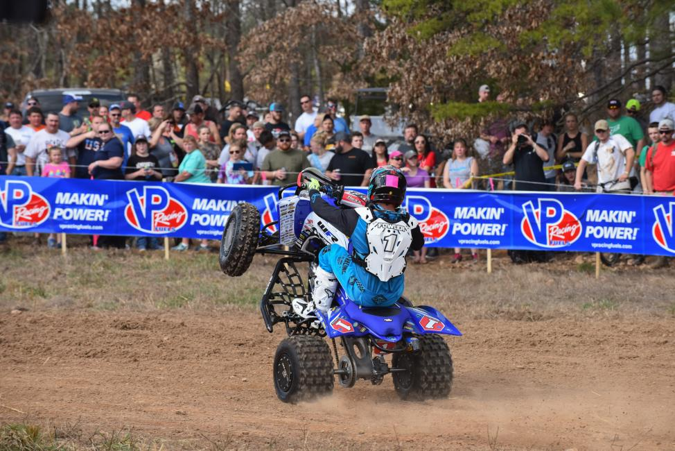 Walker Fowler is looking to make it two-in-a-row at this weekend's Moose Racing Wild Boar GNCC.
