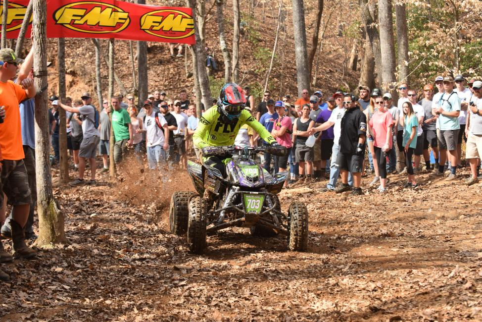 Austin Abney earned the XC2 Pro-Am win at the Big Buck GNCC, he's looking to do the same at the Wild Boar GNCC.