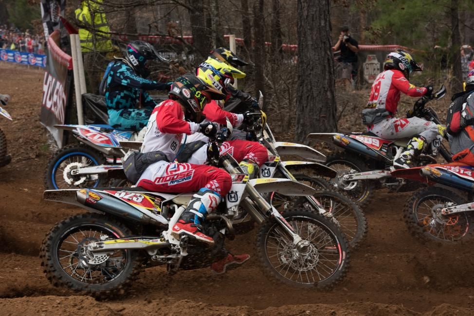 Layne Michael made his XC1 Open Pro debut at round one, and finished sixth in the class.