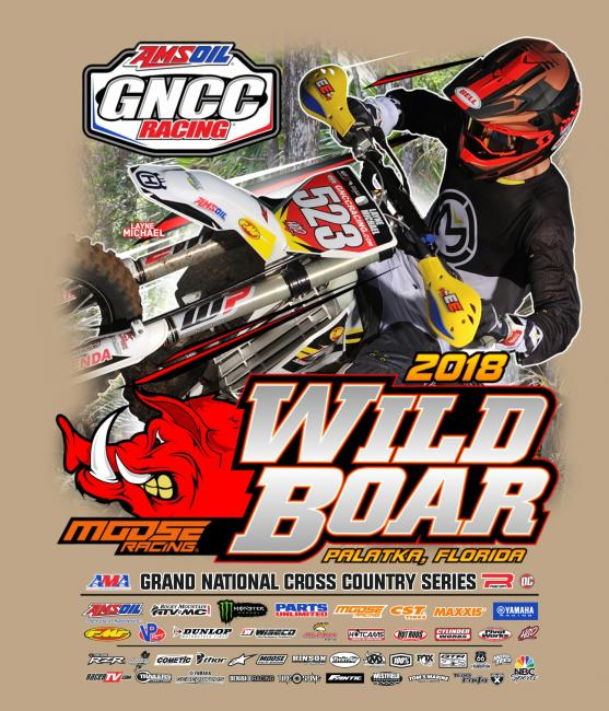 Layne Michael is pictured on the bike event shirt.