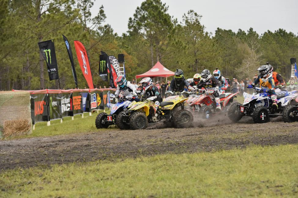 Westley Wolfe jumped off the line inches ahead of Fowler earning himself the Wiseco $250 XC1 Holeshot.