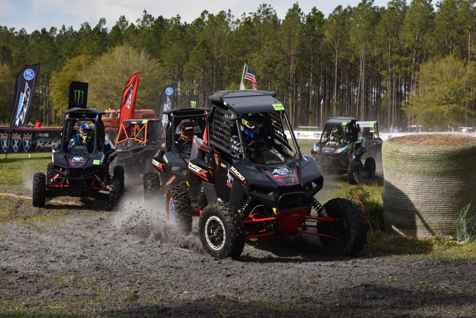 Single Seat UTV racing took place at 9 a.m. where Collin Truett earned the win.
