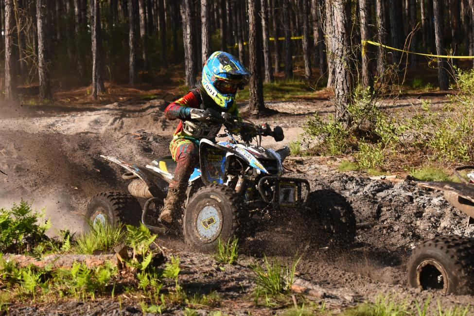 Youth ATV racer, Layne Michael earned his first Youth ATV overall win of the season at the conclusion of the 8 a.m. race yesterday.