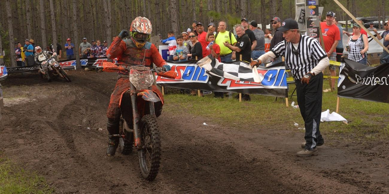 Kailub Russell Makes it Two-in-a-Row at Wild Boar GNCC