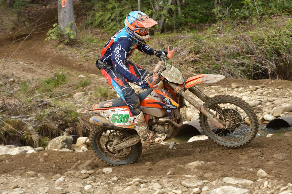 Earning his third-straight win was Ben Kelley in the XC2 250 Pro class.