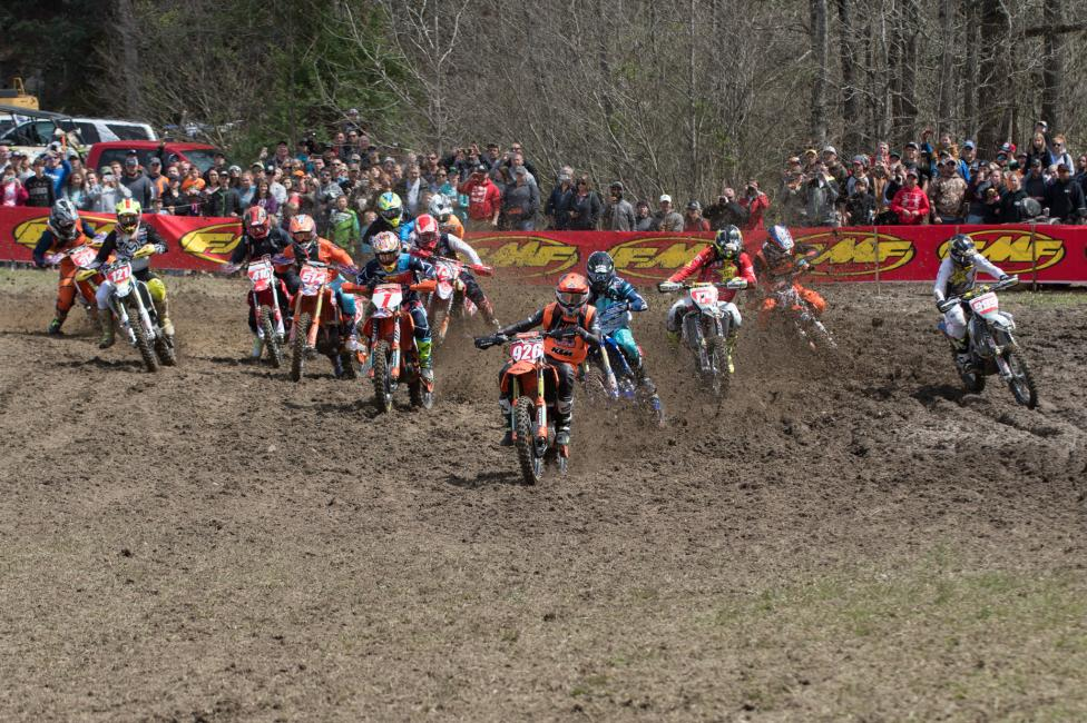 There were some tight battles all throughout the pack at Steele Creek!