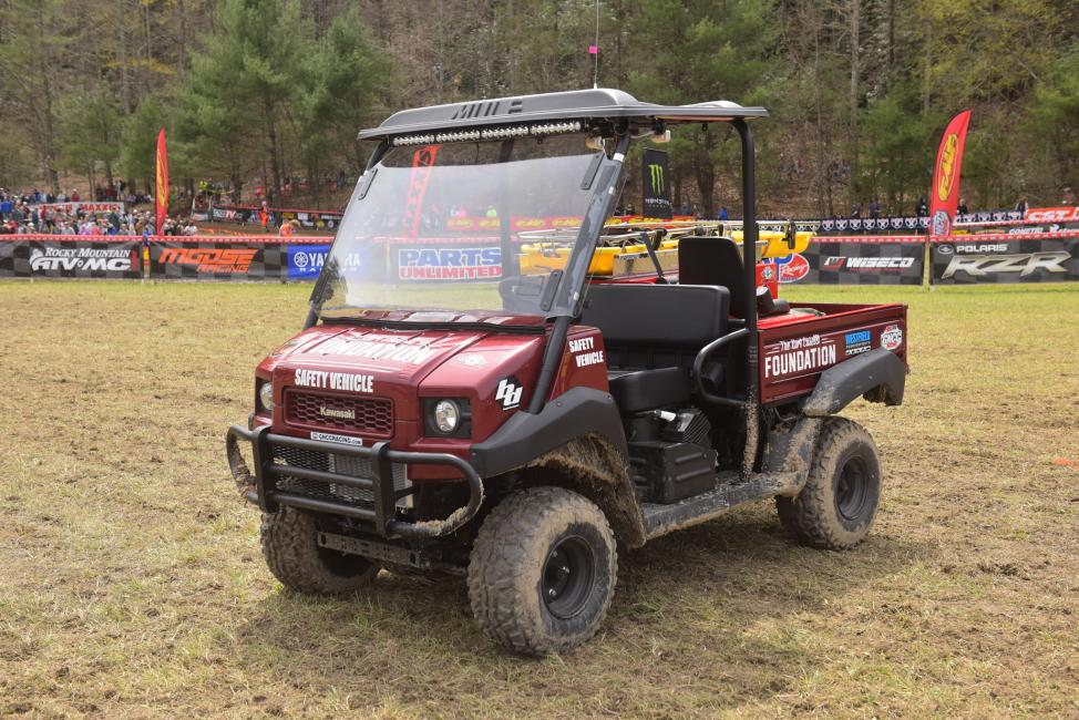 The Kurt Caselli Foundation GNCC Safety Vehicle will be used by local medical teams at every GNCC this season.