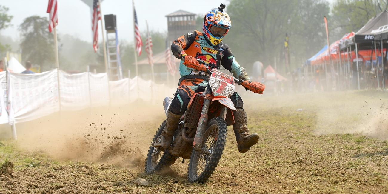 Kailub Russell Comes Out on Top with X-Factor Whitetails GNCC Overall Win