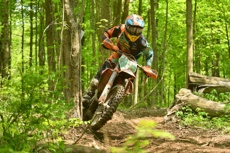 Josh Toth earned the win in the XC2 250 Pro class in Indiana.
