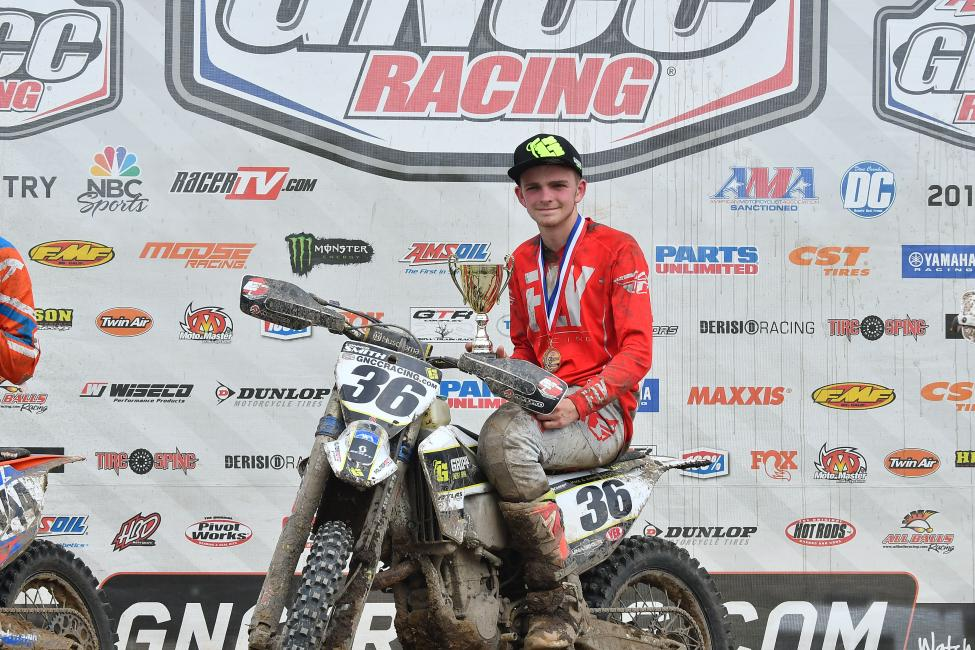 Conner Smith took the Open A class win, and Top Amateur honors at round six.