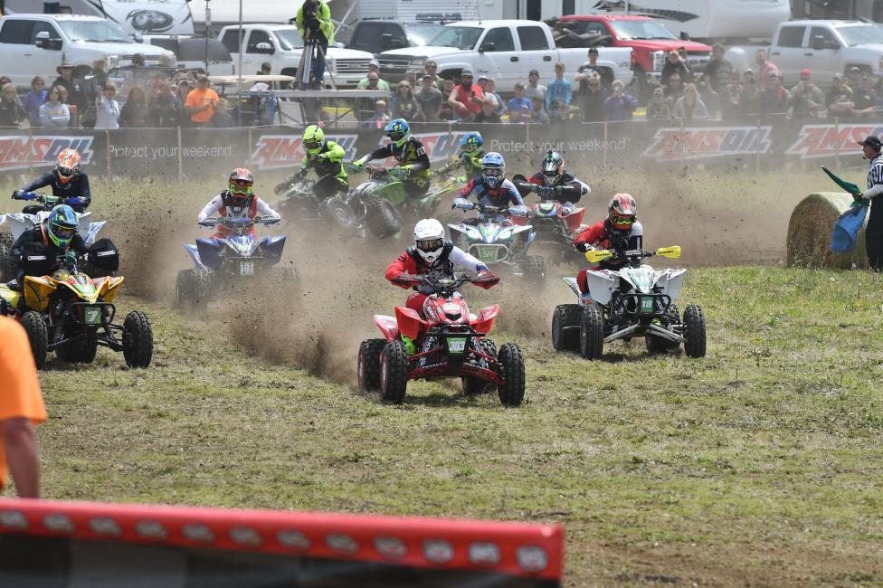 XC2 Pro-Am ATV racing action is heating up!