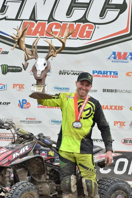 Jarrod McClure took the win at round six in Indiana.