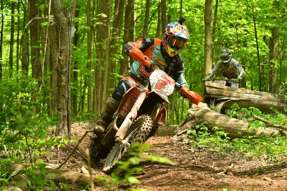 Kailub Russell and Thad Duvall have been battling all season, and are both looking to take the overall win at this weekend's John Penton GNCC.