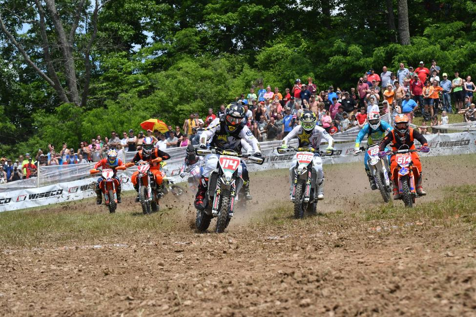 Josh Strang captured the XC1 Open Pro holeshot, and he earned his first podium finish of the season.