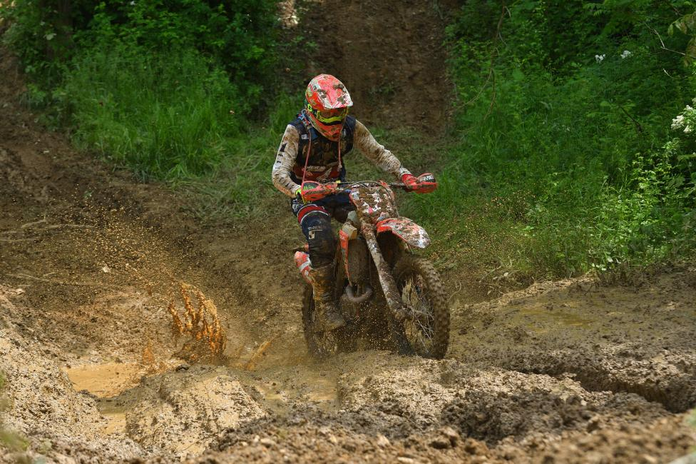 Trevor Bollinger currently sits in the fourth place position, but is looking to earn another podium finish at the Tomahawk GNCC.