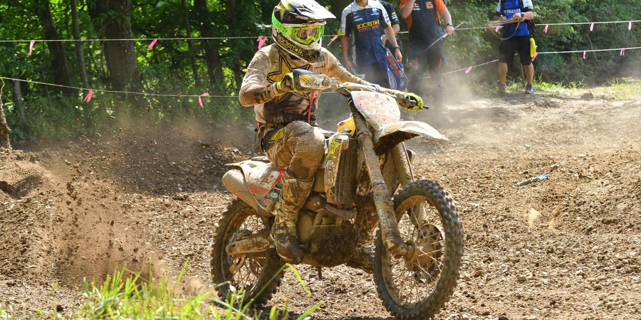 Thad Duvall Aims for Two-In-A-Row at Dunlop Tomahawk GNCC