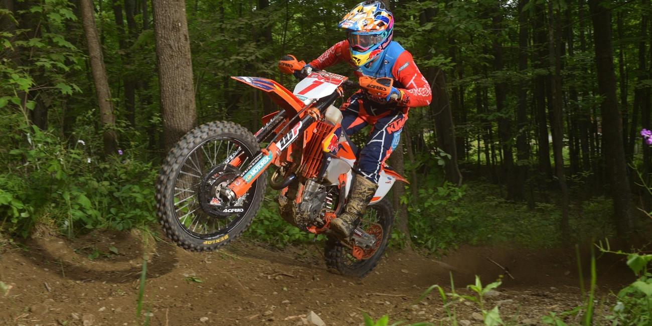 Russell and Duvall Set to Battle at AMSOIL Snowshoe GNCC