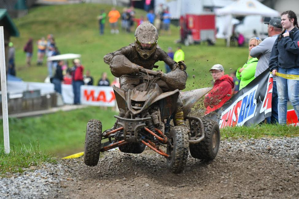 Youth ATV racing kicked off the day Saturday morning.