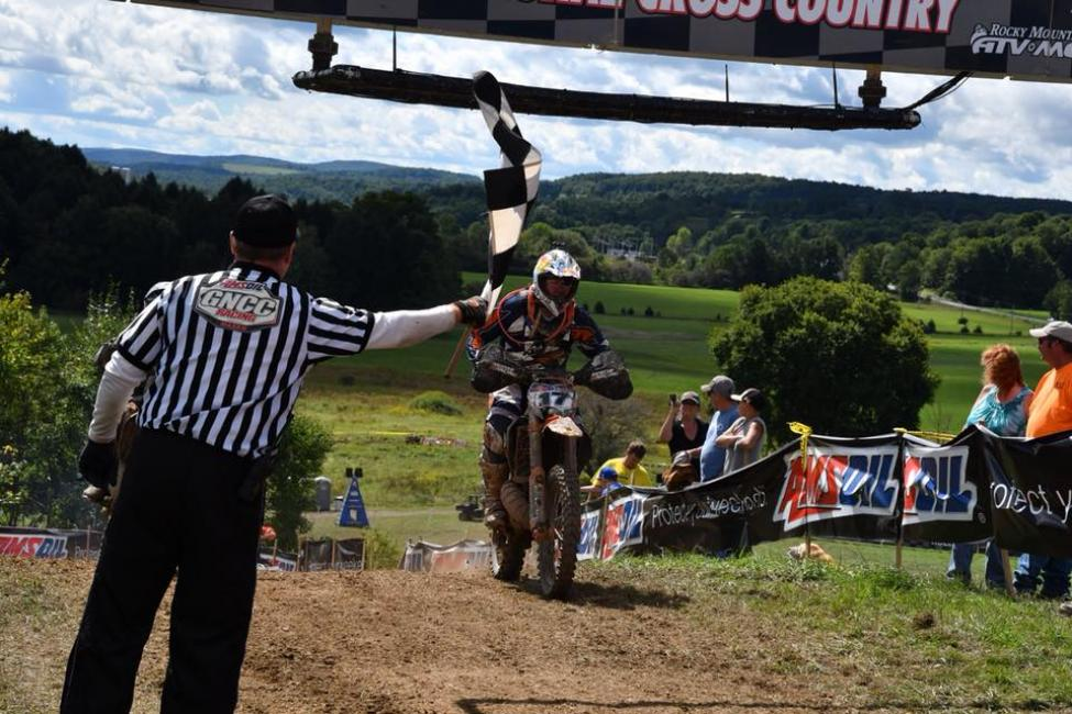 Rob Johnson has a racing background, taking in part in various GNCC rounds over the years.