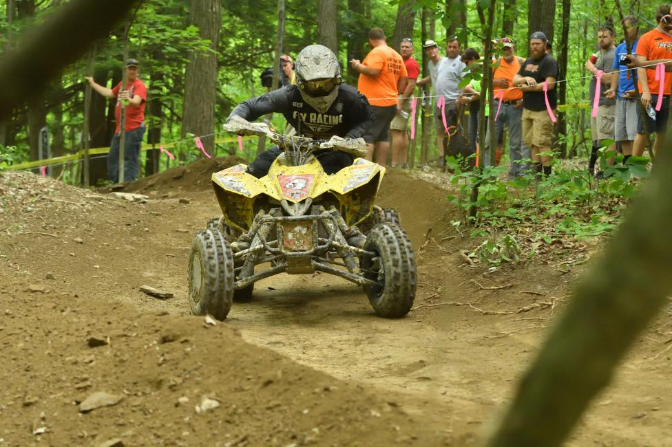 Chris Borich earned the win at Snowshoe, will he make it two-in-a-row by taking the Mason-Dixon GNCC win in September 29?