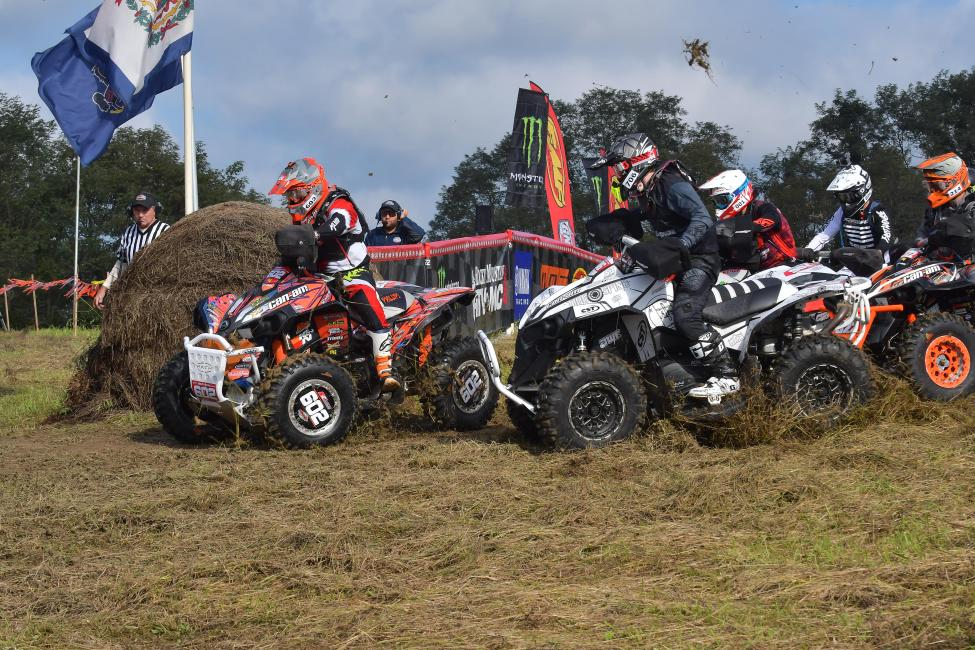 Can-Am Renegade ATV pilot Jordan Phillips took the 4x4 ATV Pro class holeshot amongst several other Renegade ATV racers, and also recorded his first podium of the year, earning third place.