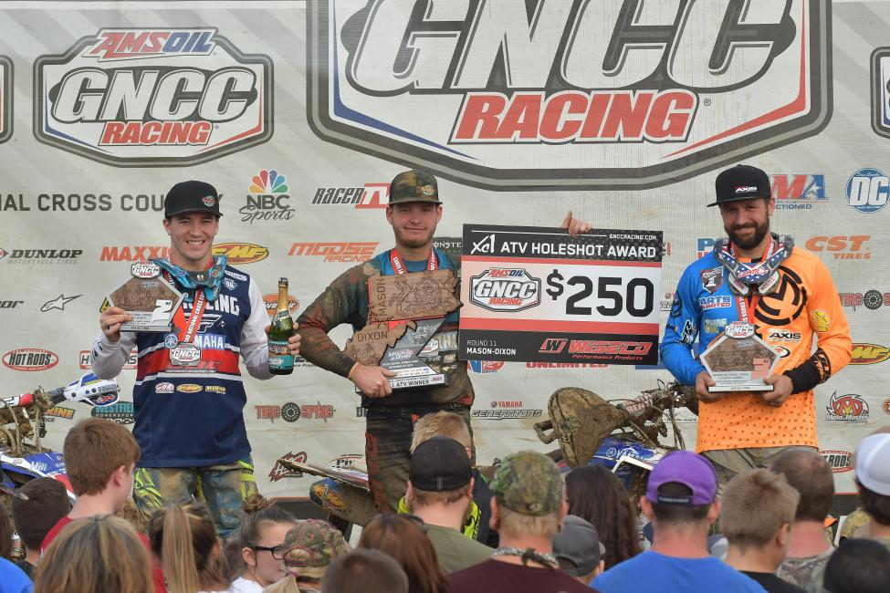 Walker Fowler finished second overall at the Mason-Dixon GNCC this past weekend.