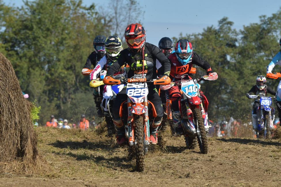 Mackenzie Tricker claimed the holeshot once again.